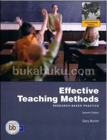 Effective Teaching Methods (7th, 11) by Borich, Gary D [Paperback (2010)]