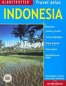 Indonesia Travel Atlas (Globetrotter Travel Atlas)