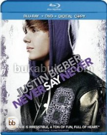 Justin Bieber: Never Say Never (DVD/Blu-ray Combo)